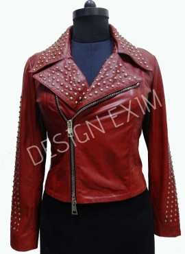 CODE 08 LADIES BIKER  JACKET