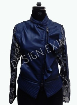 CODE 24 FASHION LEATHER JACKET