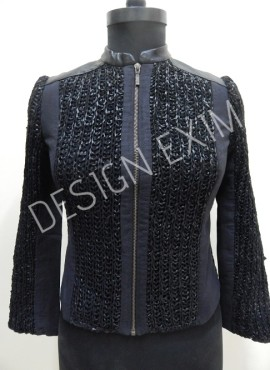 CODE 37 FASHION LEATHER JACKET