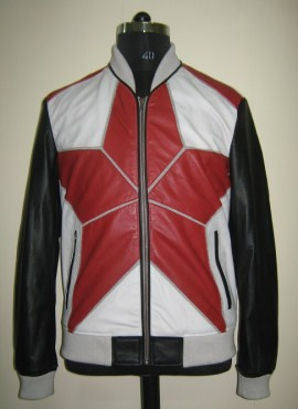 CODE M20    DESIGNER LEATHER JACKET