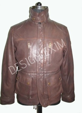 style-6 ,leather -lamb antique ,col-brown